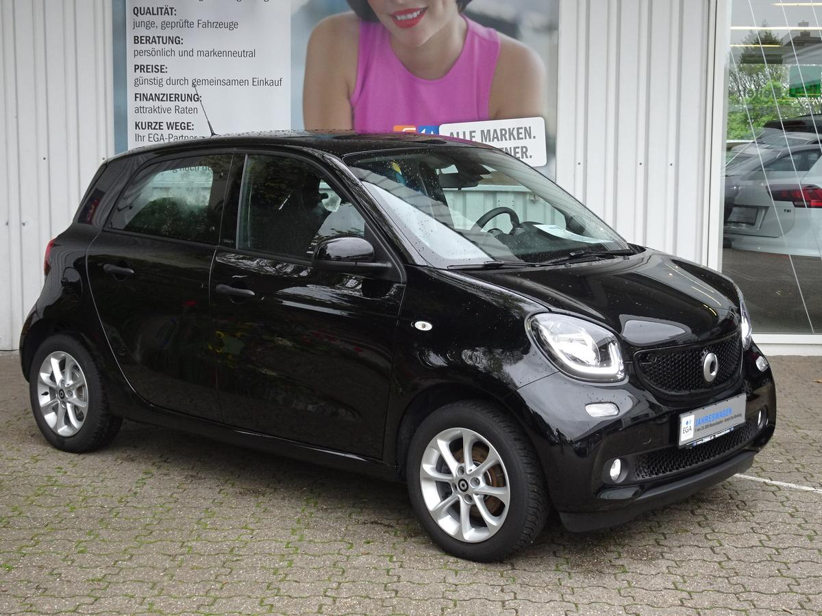 Smart ForFour PASSION/66KW/TWINAMIC/COOL&MEDIA/NAVI/SHZ/PTS/1H