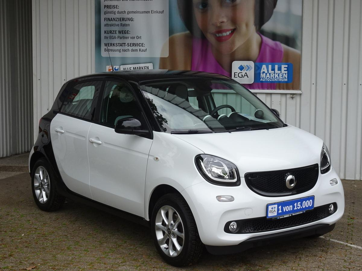 Smart ForFour PASSION/LED/COOL&AUDIO/PTS/SHZ/KEIN MIETWAGEN