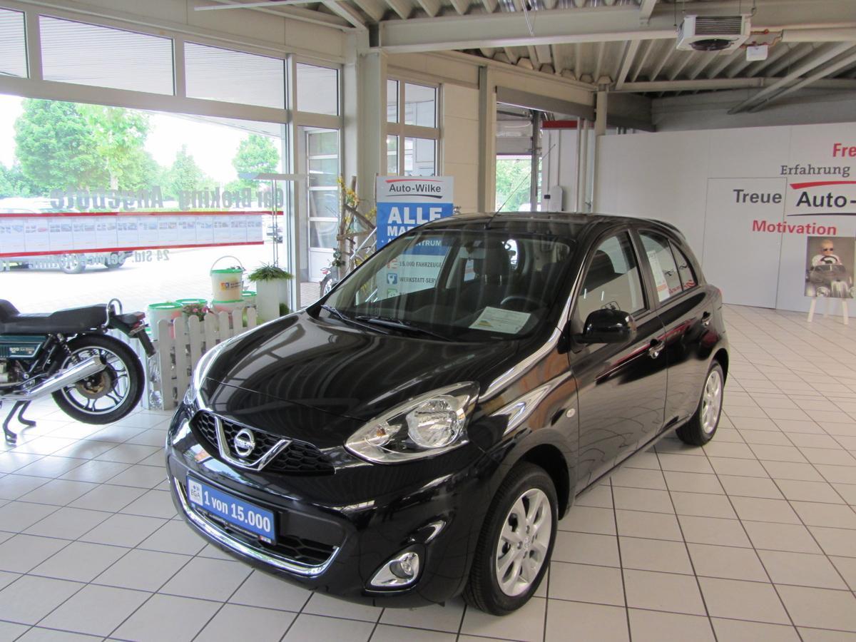 Nissan Micra 1.2 Klima-CD-BTH-Alu-NSW