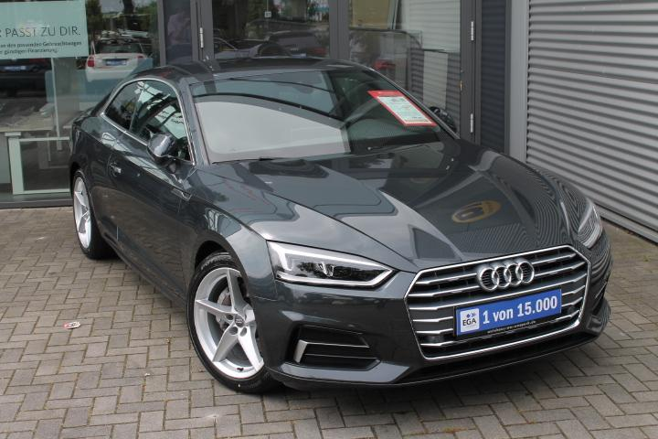 Audi A5 Coupe Sport 2,0 TDI S-tr, LED, Navi, Leder, Virtual Cockp