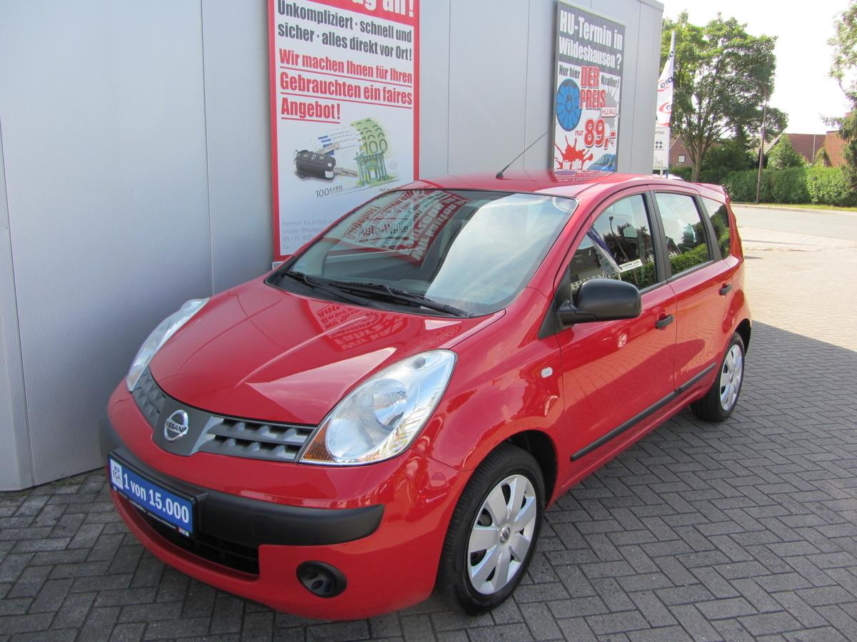 Nissan Note 1.4 visia-KLIMA-CD-AHK