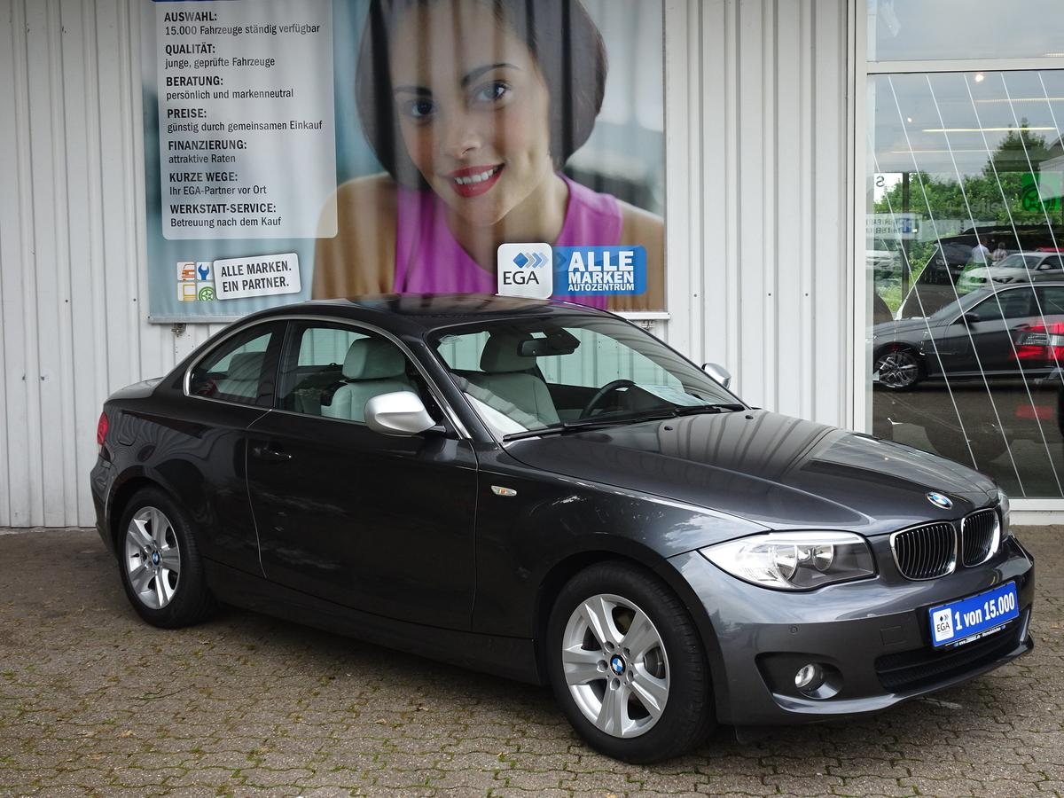 BMW 118d/COUPE/EXCLUSIVE/EURO 5/LEDER/TEMPOM/1HD/BT/PDCv+h/SHZ/