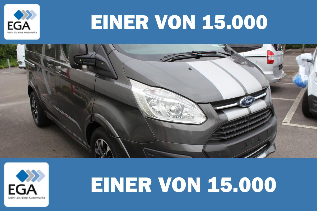 Ford Transit Custom Sport 2,0 170HP / Navi + Kamera + Assist Pak