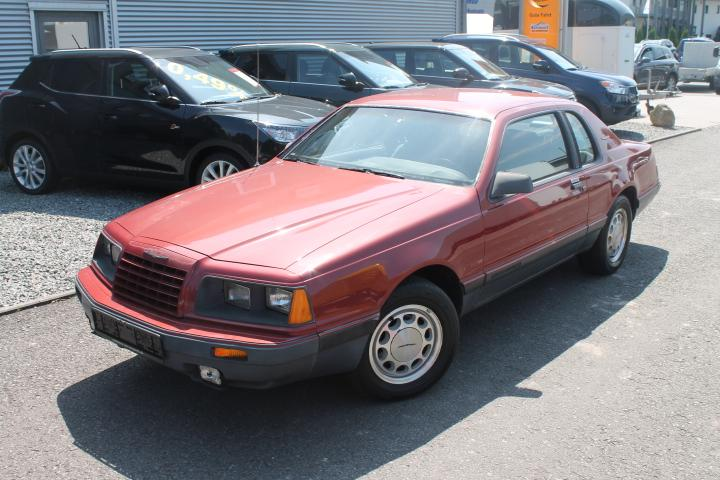 Ford Thunderbird Turbo Coupe , Klima, GRA, elektr Sitzverstellung