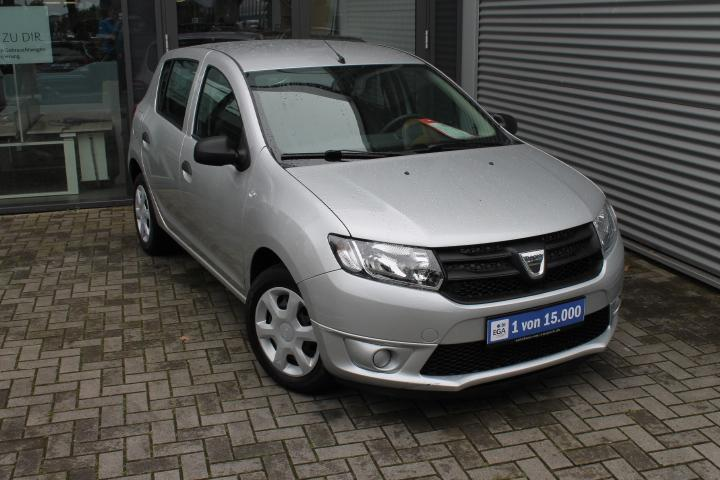 Dacia Sandero 1,2 16V  , Klima, CD-Radio, ZV, Bluetooth