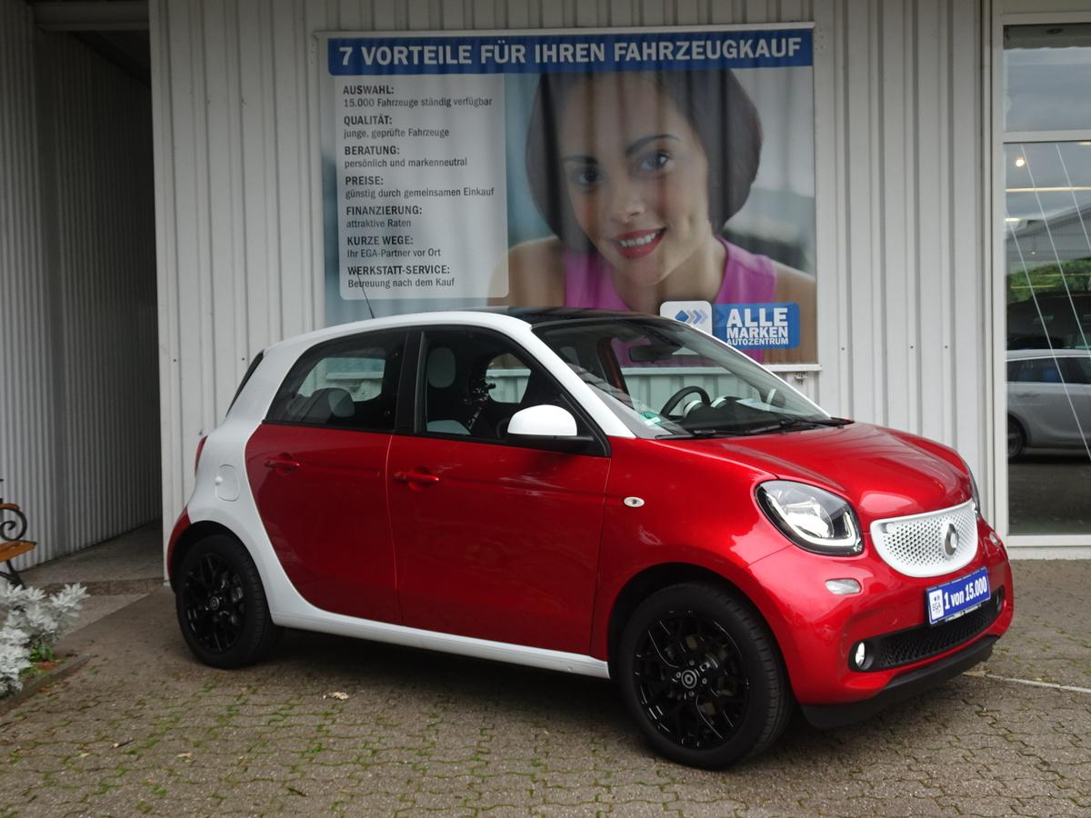 Smart ForFour PASSION/SPORTPAKET/PANORAMADACH/LED/COOL&A/SHZ/PDC