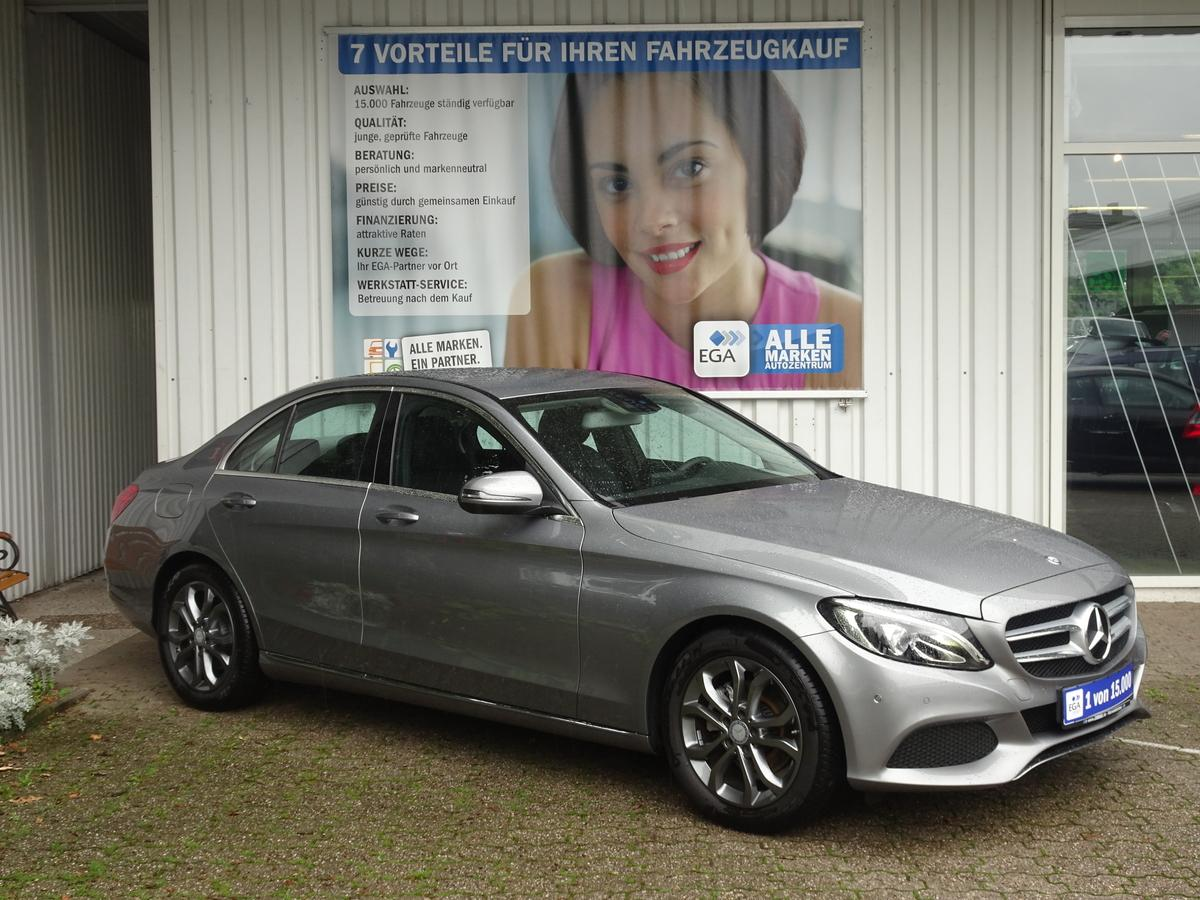 Mercedes-Benz C 180 AVANTGARDE/7G AUT/AHK/NAVI/PTS/ LED/BUISNESS PKT/1 H