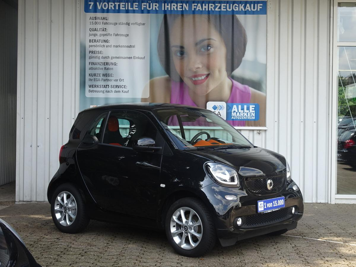 Smart ForTwo LED/TWINAMIC/COOL&AUDIO/PANORAMA/SHZ/LED/KOMF PKT
