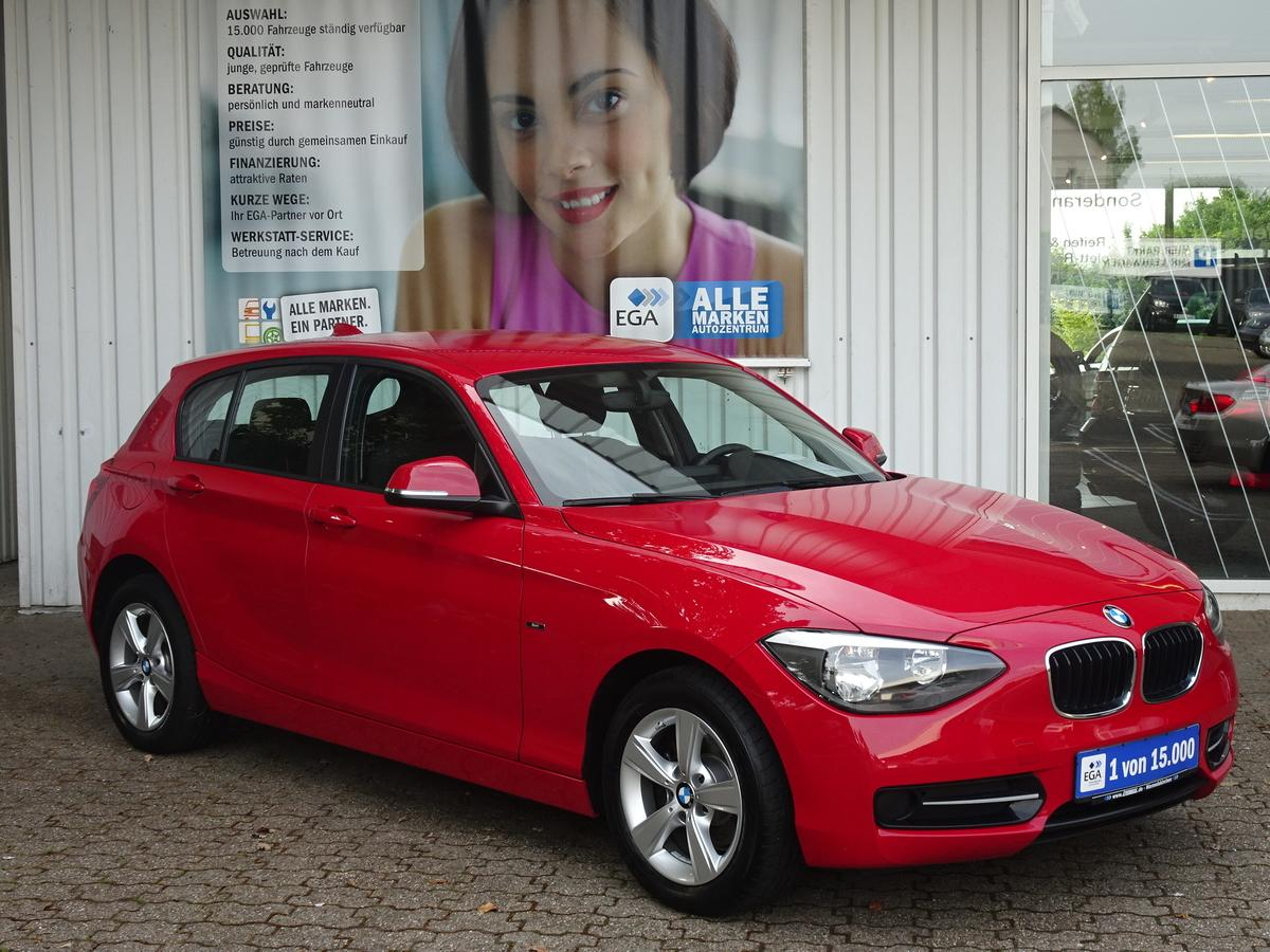 BMW 114i ADVANTAGE PLUS SPORTLINE PDC KLIMA ALU