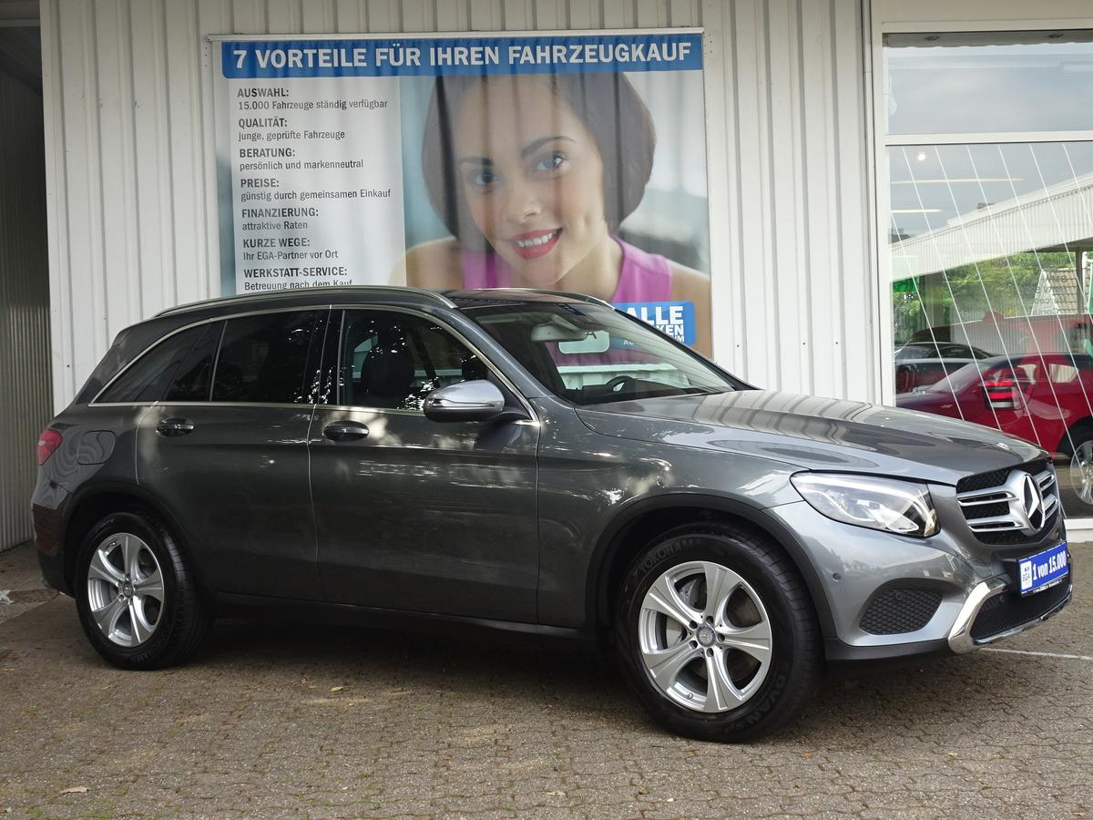 Mercedes-Benz GLC 220 d 4M/9Gg AUT/EXCLUSIVE/PANORAMADACH/LED HIGH/AHK/PTS