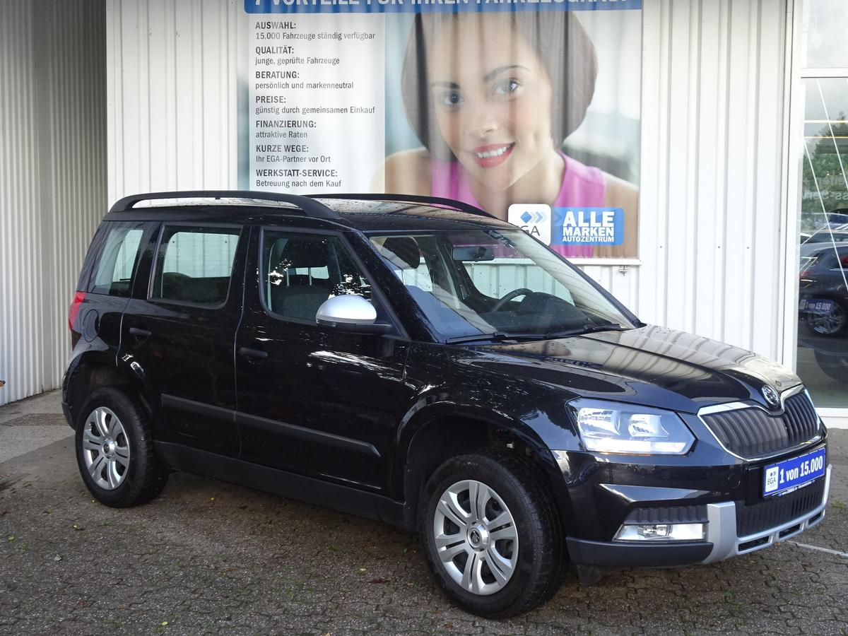 Skoda Yeti  1.2 TSI ACTIVE/GREEN TEC/OUTDOOR/MP3/BLUETOOTH/1 HD