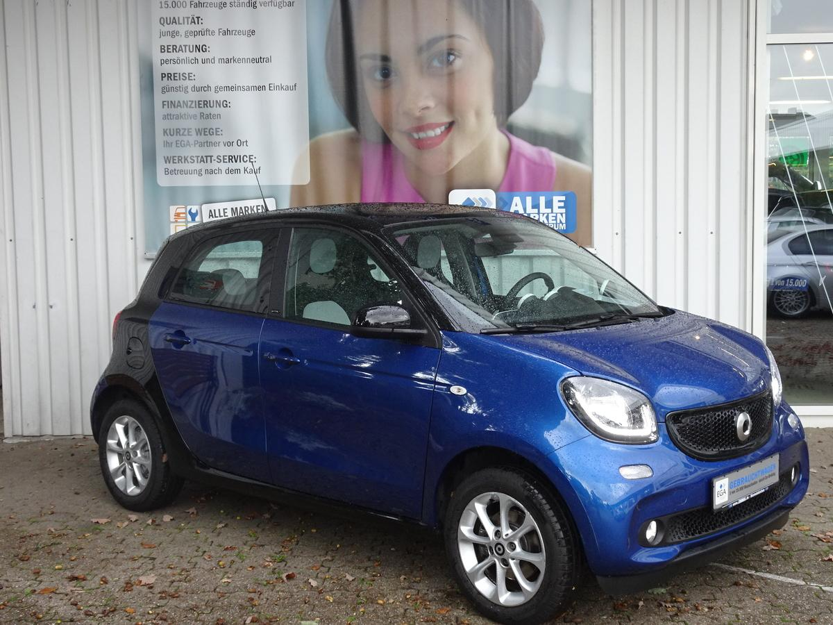 Smart ForFour PANORAMADACH/PTS/SHZ/LED/ALU/TEMPOMAT/KF PKT
