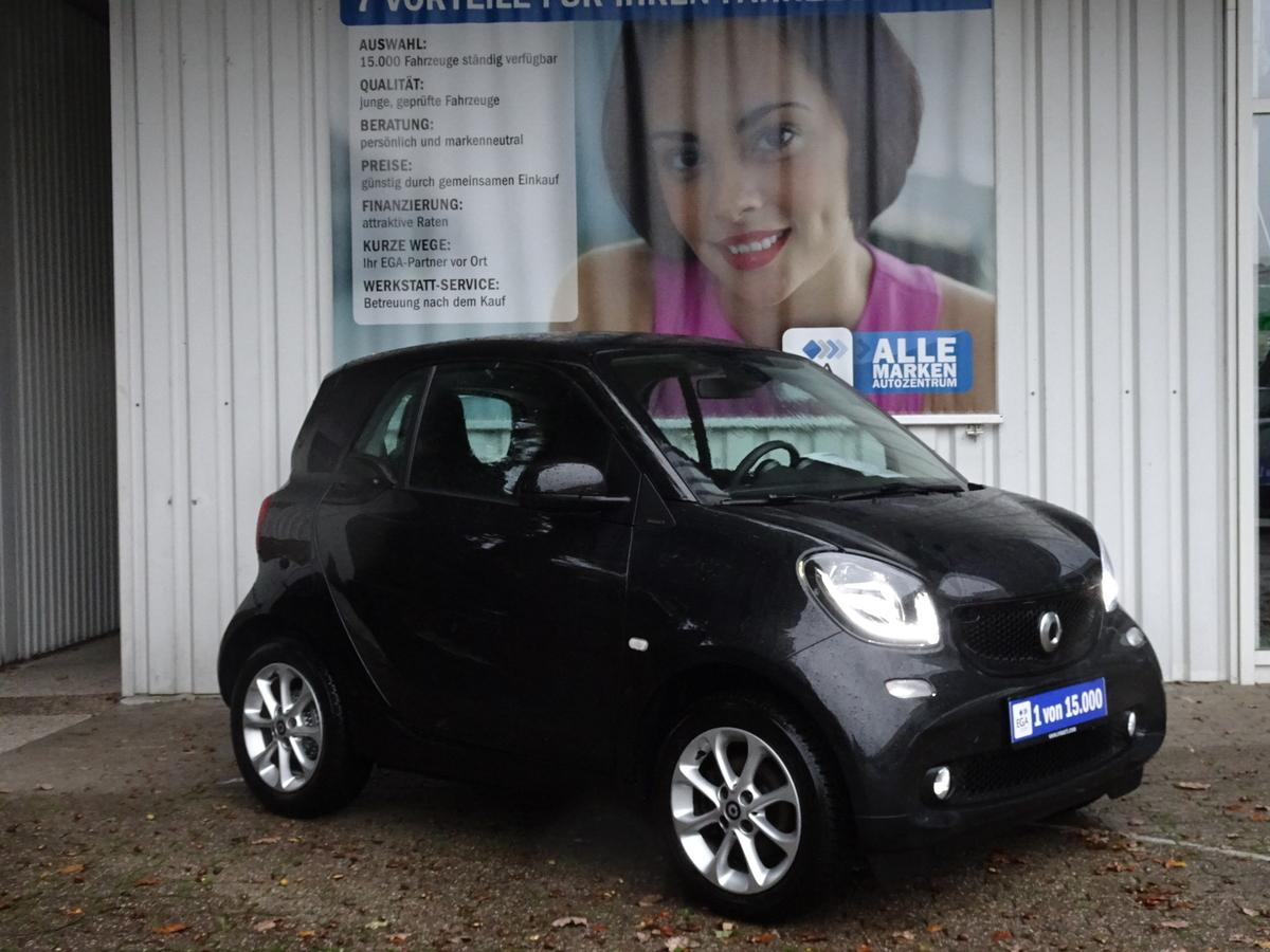 Smart ForTwo 66 KW/PANORAMADACH/SHZ/TEMPOMAT/LED/COOL&AUDIO