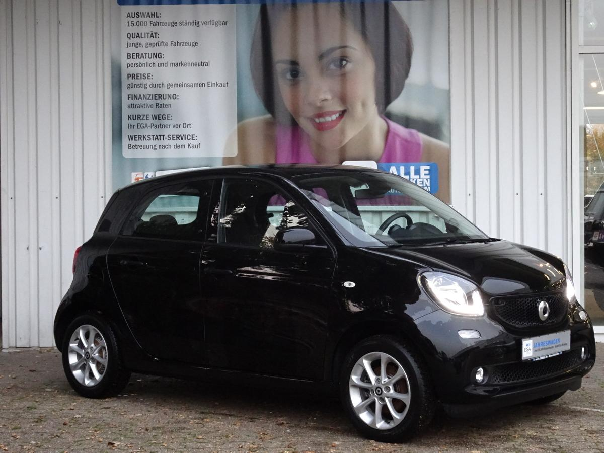 Smart ForFour PASSION/COOL&MEDIA/NAVI/PTS/SHZ/KOMF PKT/LED
