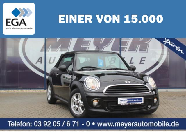 MINI One 1.6 Cabrio Navi/PDC/SHZ/ALU