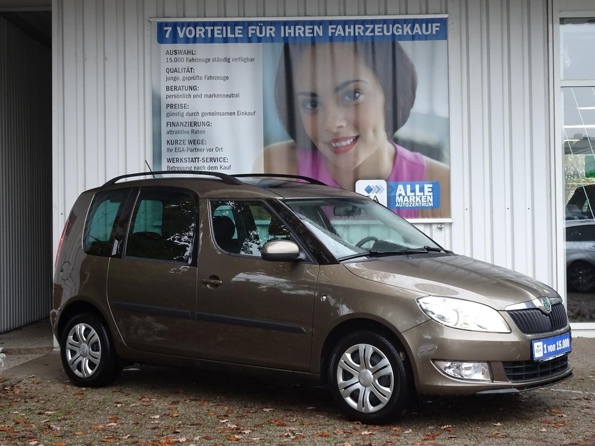 Skoda Roomster 1.2 TSI PANORAMA PDC SITZHEIZUNG CLIMATRONIC