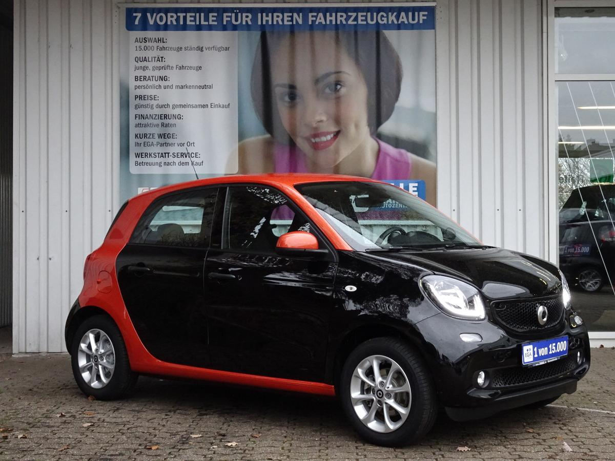 Smart ForFour 66KW/TWINAMIC/PASSION/COOL&AUDIO/LED&SENSOR/SHZ/4TKM