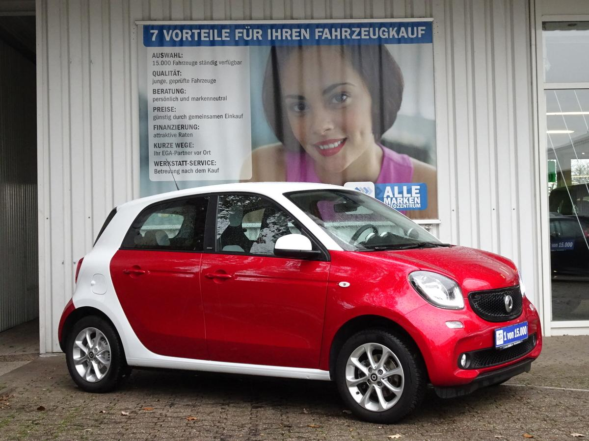 Smart ForFour PASSION/TWINAMIC/NAVI/LED/READY SPACY/SHZ/KF PKT/TEM