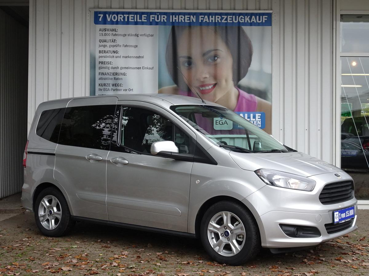 Ford Tourneo Courier ECOBOOST KLIMA  BLUETOOTH ALU  7 J FGS