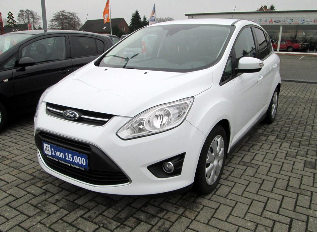 ford c-max 1.0 ecoboost business edition navi+klima+pdc+beh