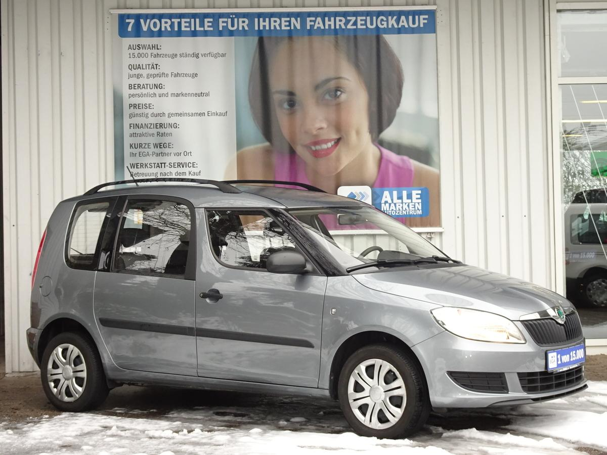 Skoda Roomster ACTIVE PLUS EDITION SITZHEIZUNG KLIMA
