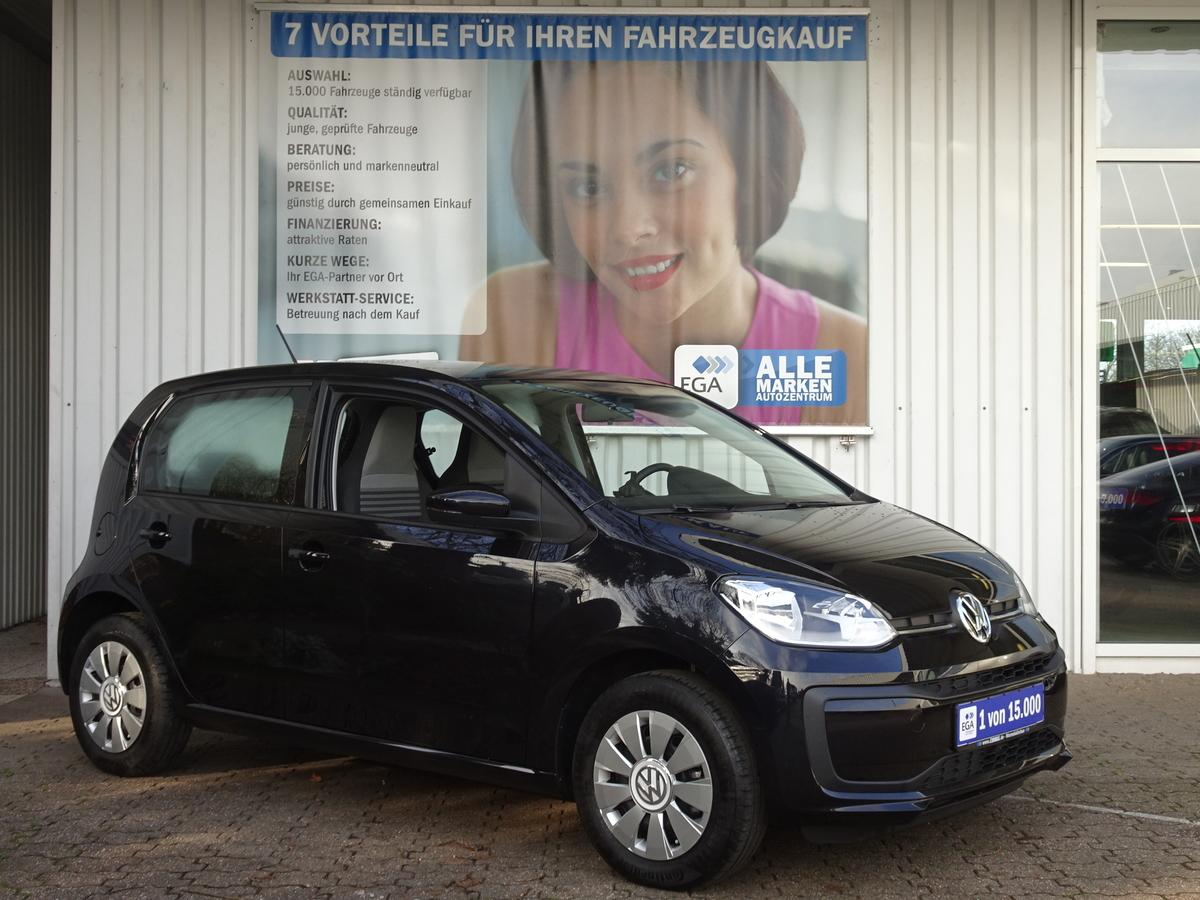 Volkswagen up! MOVE 1,0 N-MODELL 5 TÜRER KLIMA BLUETOOTH ERST 6 TKM