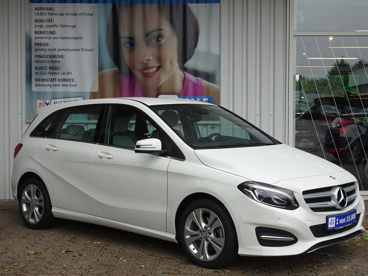 Mercedes-Benz B 180 URBAN+BUSINESS PKT/LED/PTS AKT/NAVI/LICHT+SICHT/ALU