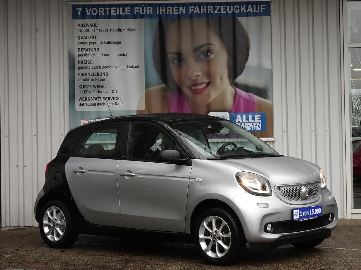 Smart ForFour PASSION/TWINAMIC/FALTDACH/NAVI/BTLED/KOMFOR