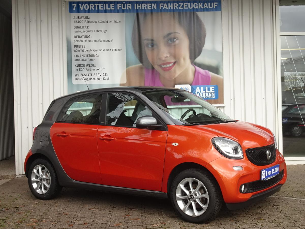 Smart ForFour PASSION/TWINAMIC/COOL&AUDIO/PANORAMADACH/SHZ/KOMF P