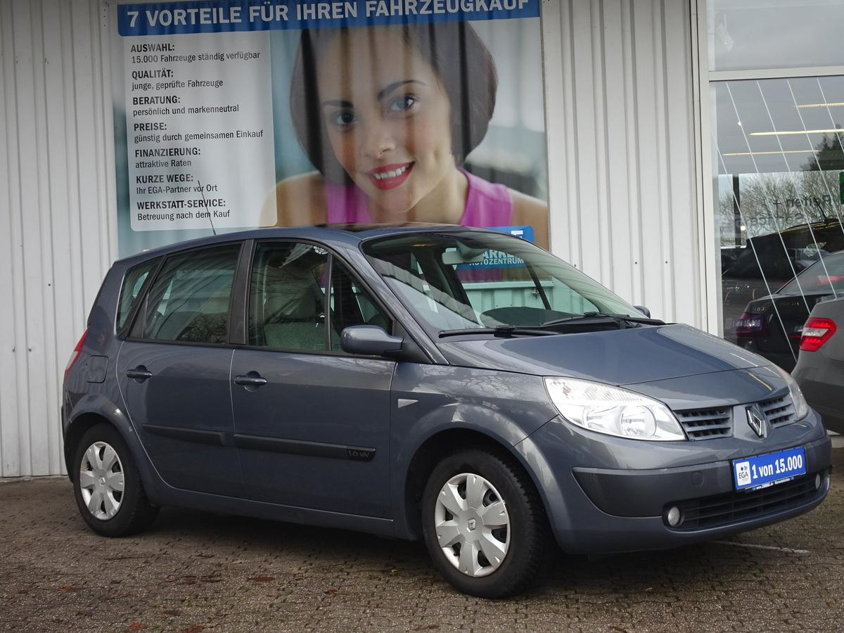 Renault Scenic 1.6 16V Authentique  KLIMA PANORAMADACH AHK