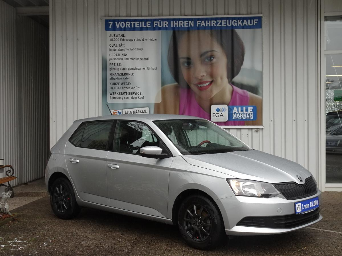 Skoda Fabia 1.0 MPI 1HD COOL EDITION KLIMA EFH AHK BLUETOOTH