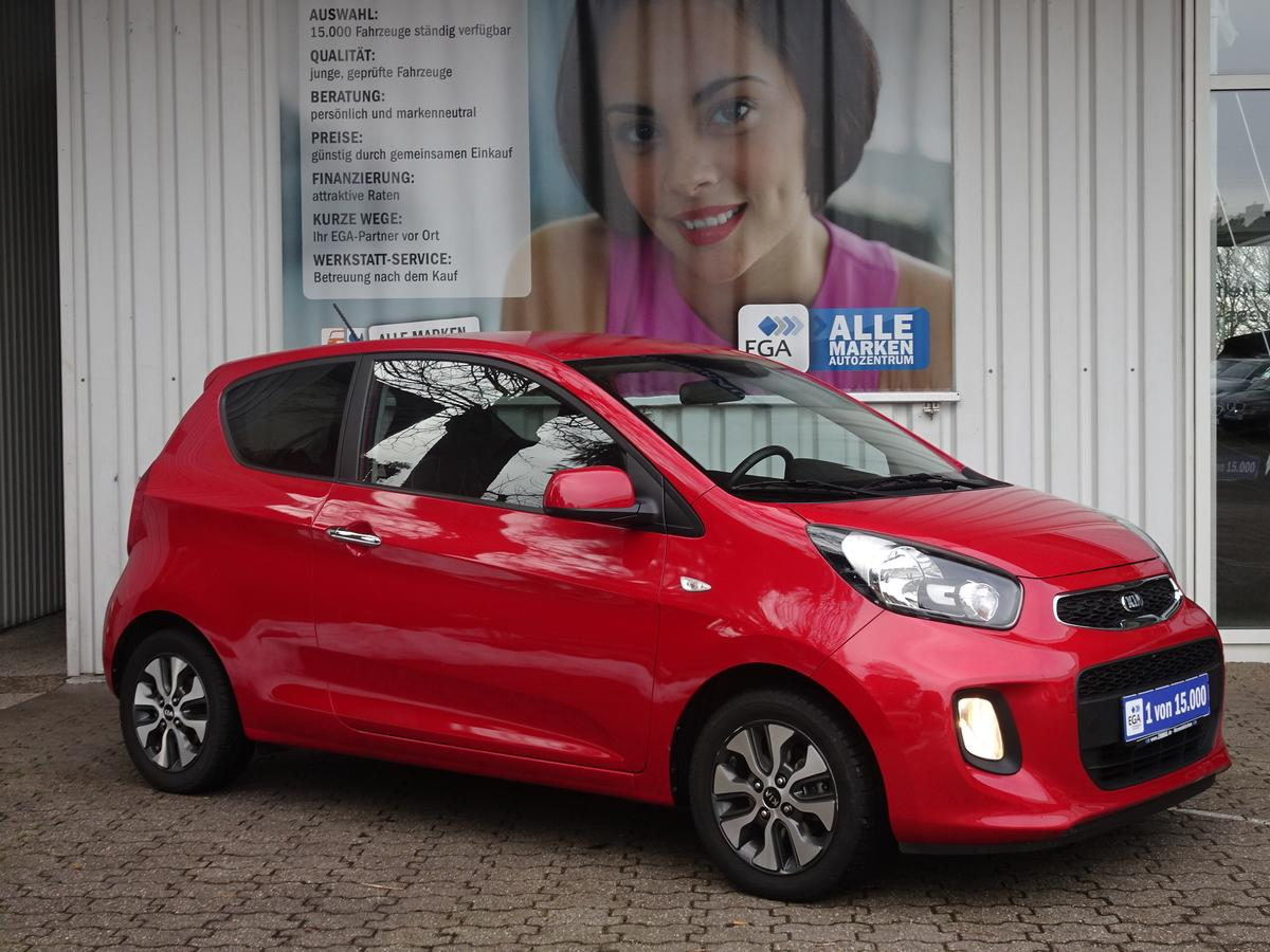 Kia Picanto 1,0 DREAM-TEAM EDITION KLIMA ALU SHZ BTH ERST TKM